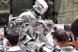Робот Титан на Российской неделе маркетинга