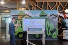"""Застройка мультимедийного выставочного стенда для компании """"Большая Тройка"""" на форум в городе Иннополис"""