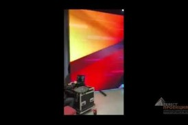Гефест проекция РТ предоставила в аренду светодиодный экран 8*4