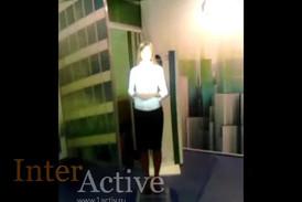 Интерактивный промоутер и интерактивный стол для компании Норбит