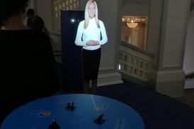 Виртуальный промоутер в промозоне Ростелеком на мероприятии Народная премия NGS.RU.