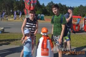 Робот R-bot на Дне молодёжи в г. Набережные Челны представлял компанию Ситилинк!