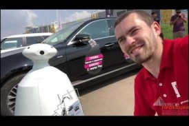 Компания «Гефест Проекция РТ» предоставила в аренду робота R-bot 100