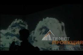 Световое шоу в рамках Интерактивный программы.