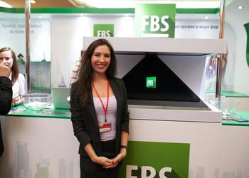 Голографическая пирамида 110 -в аренду для компании FBS Запатентованная технология