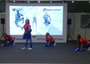 """Видеостена в аренду для Промсвязьбанка совместно с рекламным агентством """"ICE"""""""