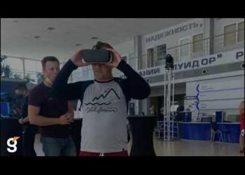 VR очки и интерактивный стол на мероприятие ГАЗDAY.